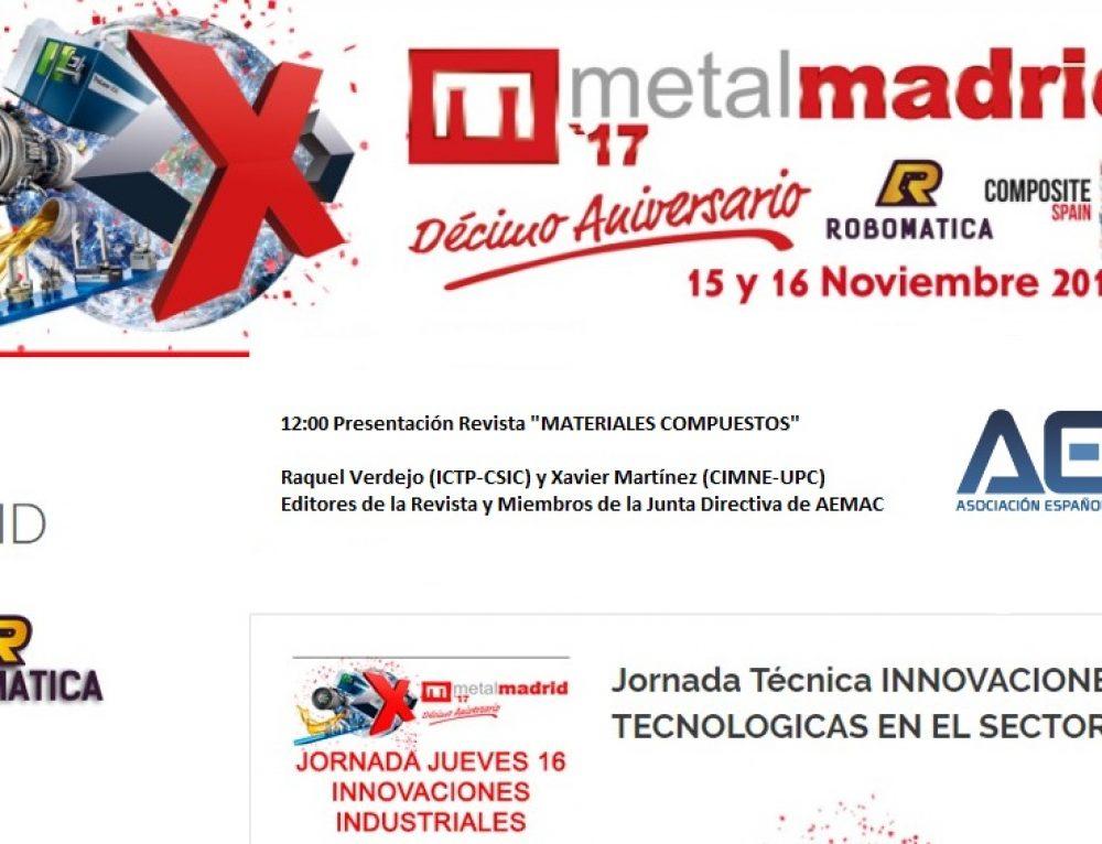 Presentación de la Revista MATERIALES COMPUESTOS en COMPOSITE SPAIN