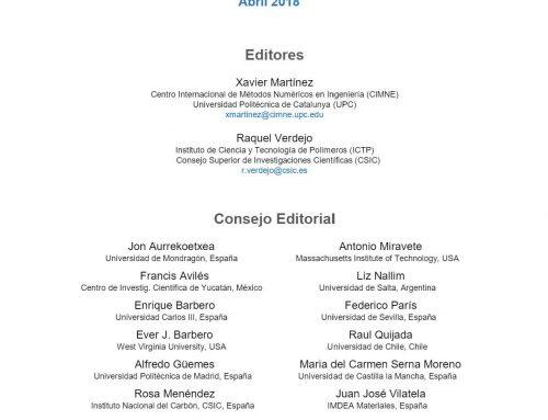 Tercer número de la Revista MATERIALES COMPUESTOS