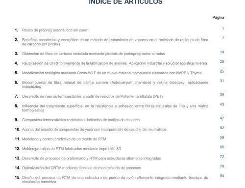 """Cuarto número de la Revista """"MATERIALES COMPUESTOS"""""""