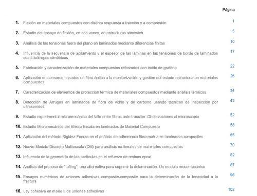 """Quinto número de la Revista """"MATERIALES COMPUESTOS"""""""