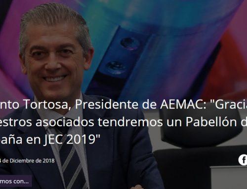 TITANIA entrevista a Jacinto Tortosa, Presidente de AEMAC
