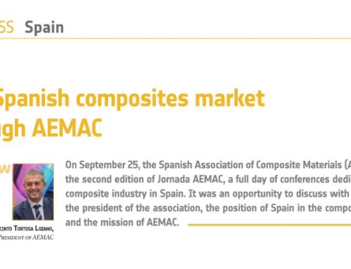 Entrevista al Presidente de AEMAC en JEC Composites