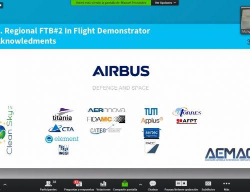 Editado el #WebinarAEMAC de AIRBUS Defence & Space