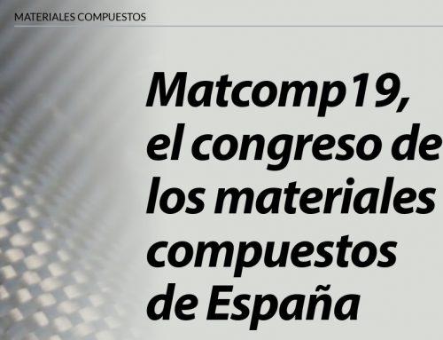 El Congreso MATCOMP19 en Plásticos Universales