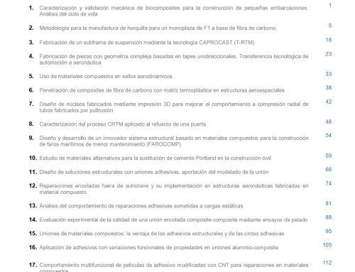 """Séptimo número de la Revista """"MATERIALES COMPUESTOS"""""""