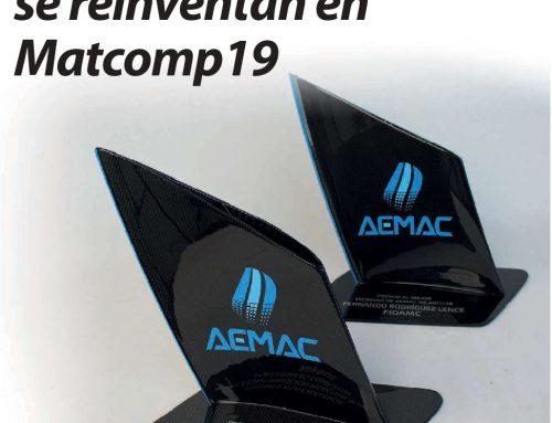 Artículo sobre MATCOMP19 publicado por Interempresas