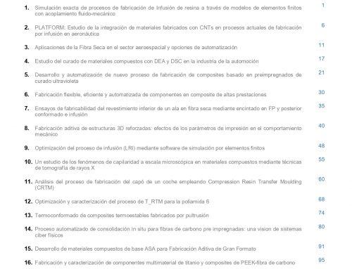 """Octavo número de la Revista """"MATERIALES COMPUESTOS"""""""