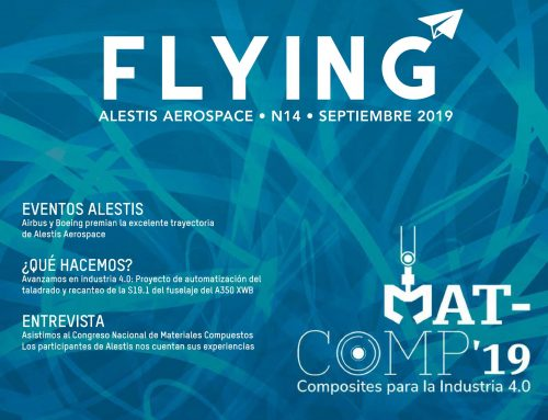 Participamos en MATCOMP19 – FLYING Nº14 by ALESTIS