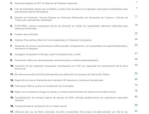 """Noveno número de la Revista """"MATERIALES COMPUESTOS"""""""