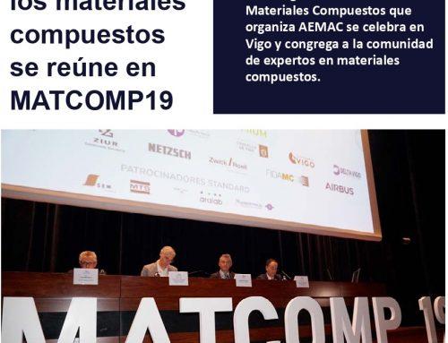 Artículo sobre los Asistentes a MATCOMP19 en RPM