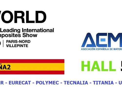 Os esperamos en JEC World 2020 – PABELLÓN ESPAÑA 2