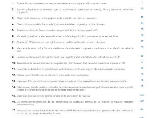 """Décimo número de la Revista """"Materiales Compuestos"""""""