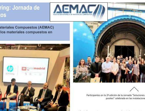 Artículo sobre la Jornada en Composite SPAIN en RPM
