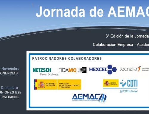 AGENDA de la 3ª Edición de la Jornada AEMAC