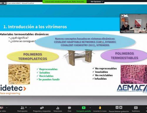 Editado el #WebinarsAEMAC de Alaitz Rekondo y Nerea Markaide – CIDETEC