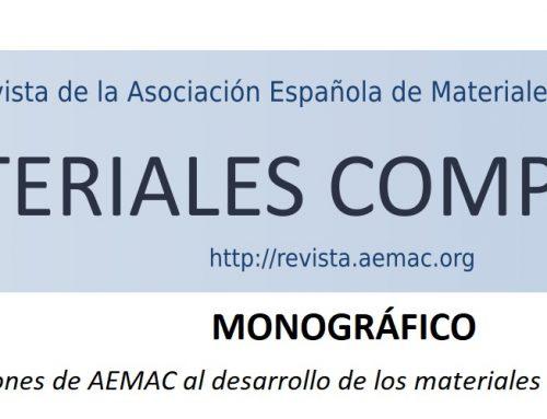 Próximo Monográfico de la Revista «Materiales Compuestos»