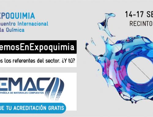AEMAC estará en EXPOQUIMIA – EQUIPLAST – EUROSURFAS