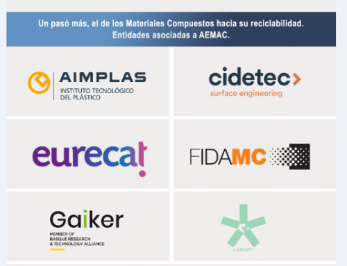 AEMAC organiza una exposición de composites reciclados en Expoquimia
